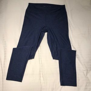Outdoor Voices 7/8 Warm Up Legging Navy Medium